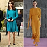 A Bright-Coloured Day Dress