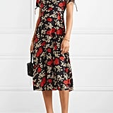 Madewell Crepe de Chine Midi Dress