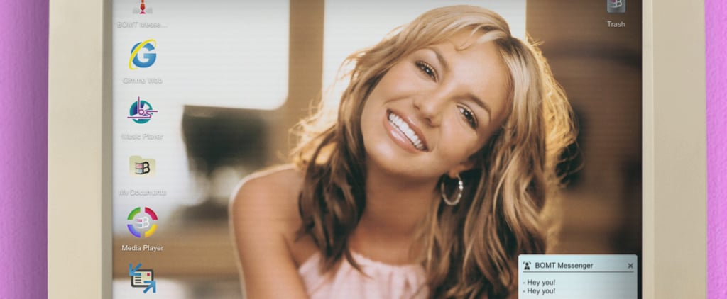 Britney Spears Baby One More Time 20th Anniversary Website