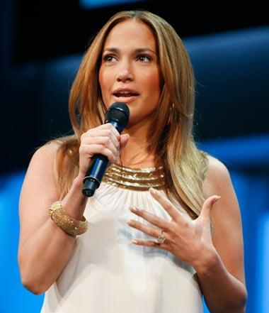 Jennifer Lopez on TLC