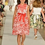 Oscar de la Renta Debuts Full Childrenswear Collection at New York Fashion Week Show