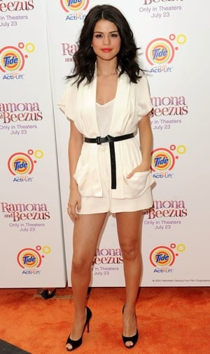 Pictures of Selena Gomez in Christian Cota at Ramona and Beezus Premiere in NYC