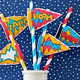 Superhero Straw Mix ($4 For 25)