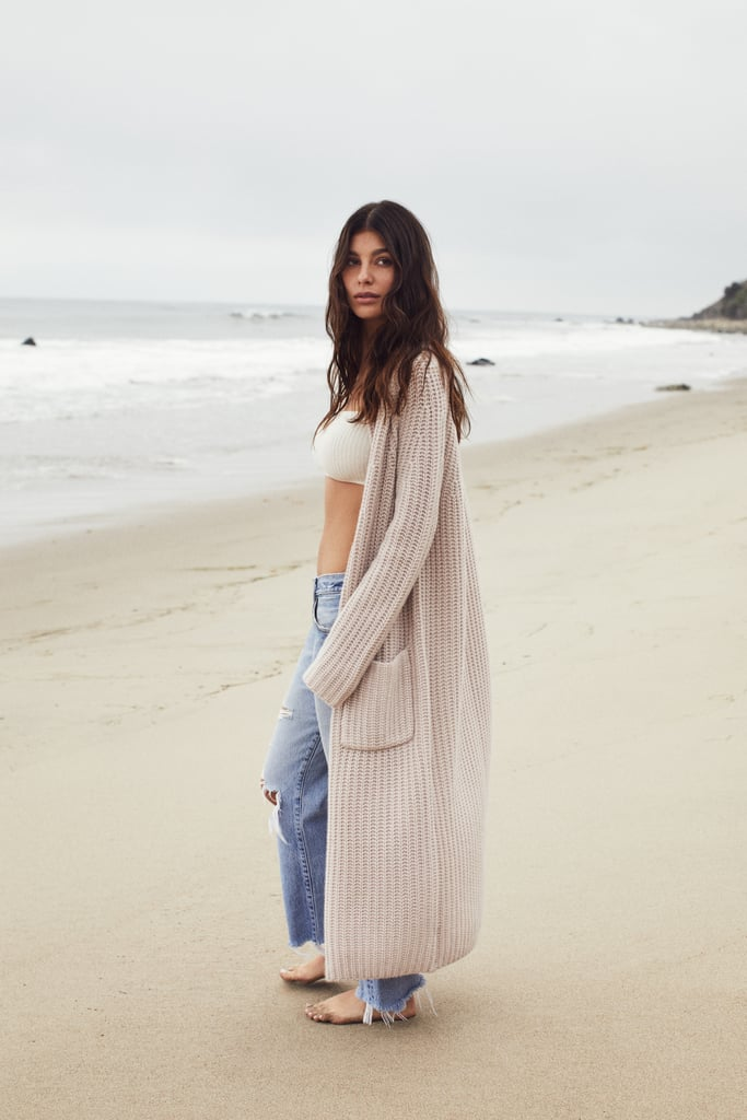 Camila Morrone Naked Cashmere Collection