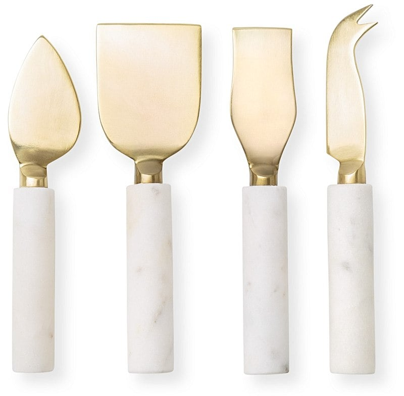 Oliver Bonas Marble Cheese Knives​