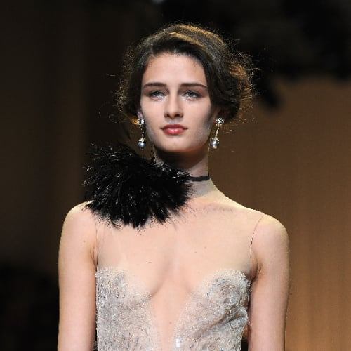 Giorgio Armani Prive Hair | Paris Couture Fashion Week 2013