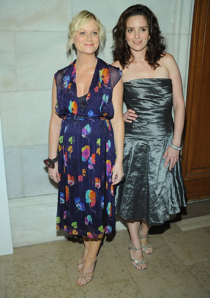 It was a girls' night out for Amy and Tina when they attended the 2008 CFDA Fashion Awards.