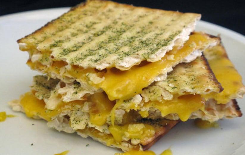 Matzo Grilled Cheese