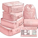 Packing Cubes 7 Travel Luggage Packing Organizers Set