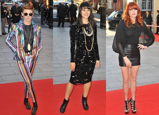 Photos of La Roux, Florence and Bat for Lashes at Mercury Music Prize