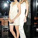 Lily Kwong and Annelise Peterson at Net-a-Porter's party at Omar's. Neil Rasmus/BFAnyc.com