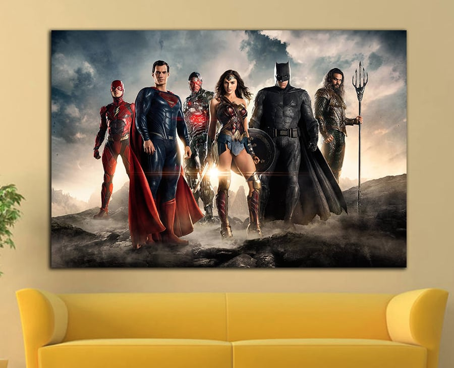 Striking Wall Art | Gifts For Justice League Fans | POPSUGAR ...