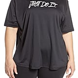 Nike Dry Just Do It Split Back Tee