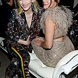 Pictured: Cate Blanchett and Sandra Bullock