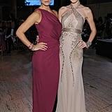 Bar Refaeli and Jessica Stam