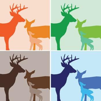 Roundup: Deer Motifs