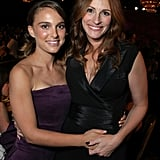 Julia posed with a fresh-faced Natalie Portman at the American Cinematheque Awards in 2007.