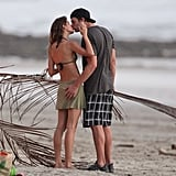 Tom Brady and Gisele Bündchen showed major PDA on a beach in Costa Rica in February.
