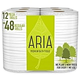 Aria Premium Earth Friendly Toilet Paper