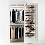 24-Pocket Over the Door Shoe Organiser