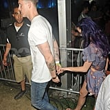 Katy Perry was hand-in-hand with her new man at Coachella's second weekend.