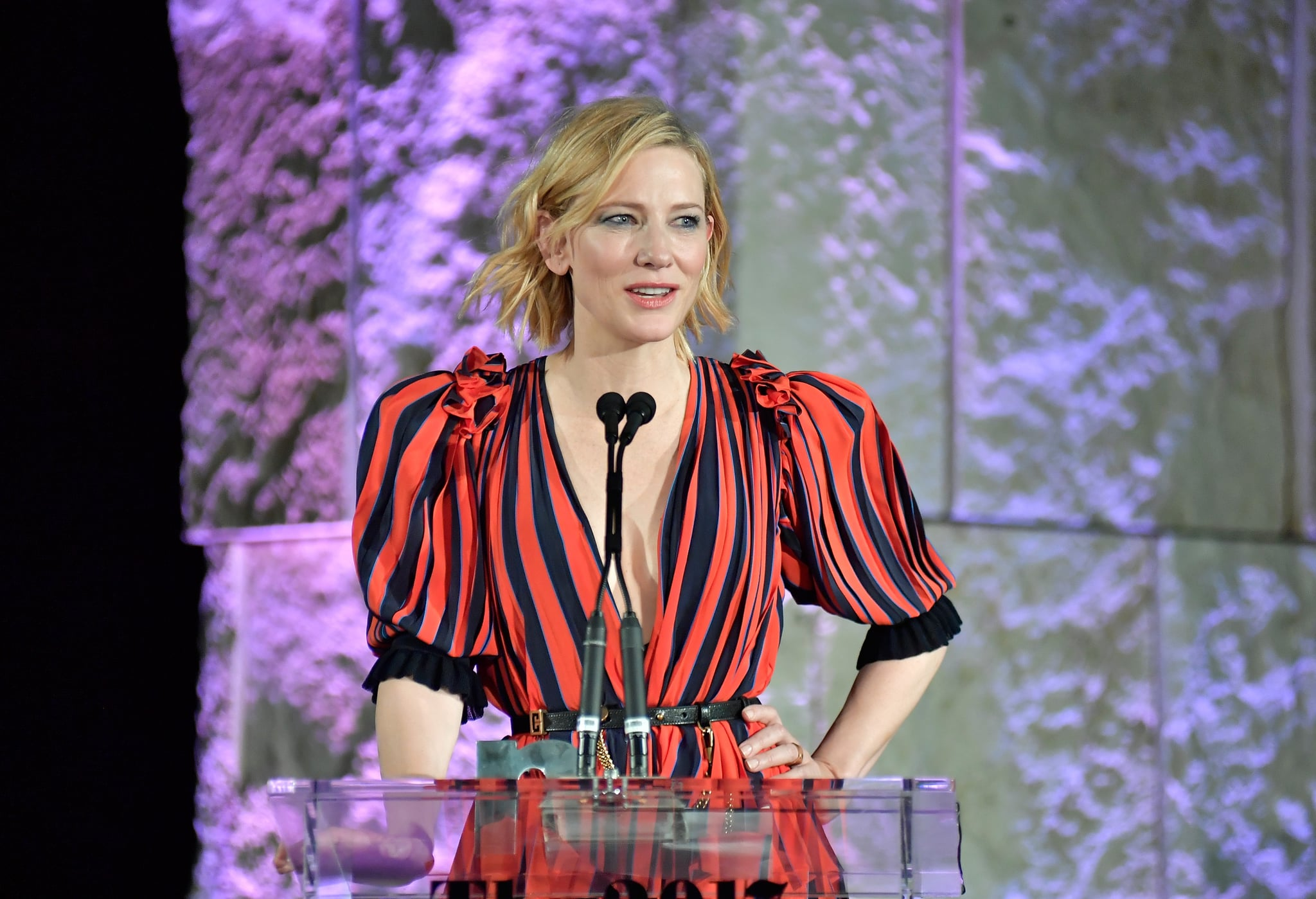 "Cue the Mic Drop From Cate Blanchett Talking About Women Dressing Sexy — ""We Don't Want to F**k You"""