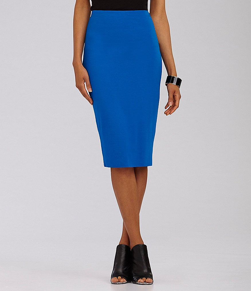 Don't complicate things; just swap out your black pencil skirt for this bright blue Vince Camuto iteration ($69).