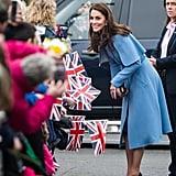 Kate Middleton's Coat Draws Harry Potter Comparisons