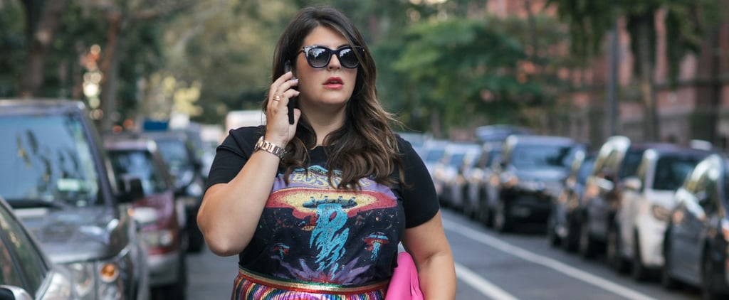 How to Wear Fall's Graphic T-Shirt Trend Like a Celeb