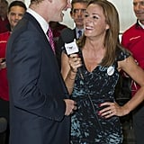 Natalie Pinkham As Harry started frequenting London's bars and clubs in 2003, TV presenter Natalie was often by his side, and although they never dated, there was always a question mark over the exact nature of their tactile and flirty relationship.