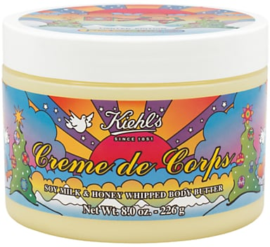 Kiehl's Peter Max Limited Edition Crème De Corps Whipped Body Butter