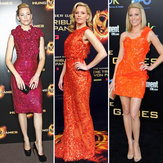 See Elizabeth Banks Channel Effie's Bold Style on The Hunger Games World Premiere Tour