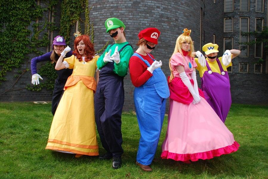 Waluigi Princess Daisy Luigi Mario Princess Peach and Wario & Waluigi Princess Daisy Luigi Mario Princess Peach and Wario ...
