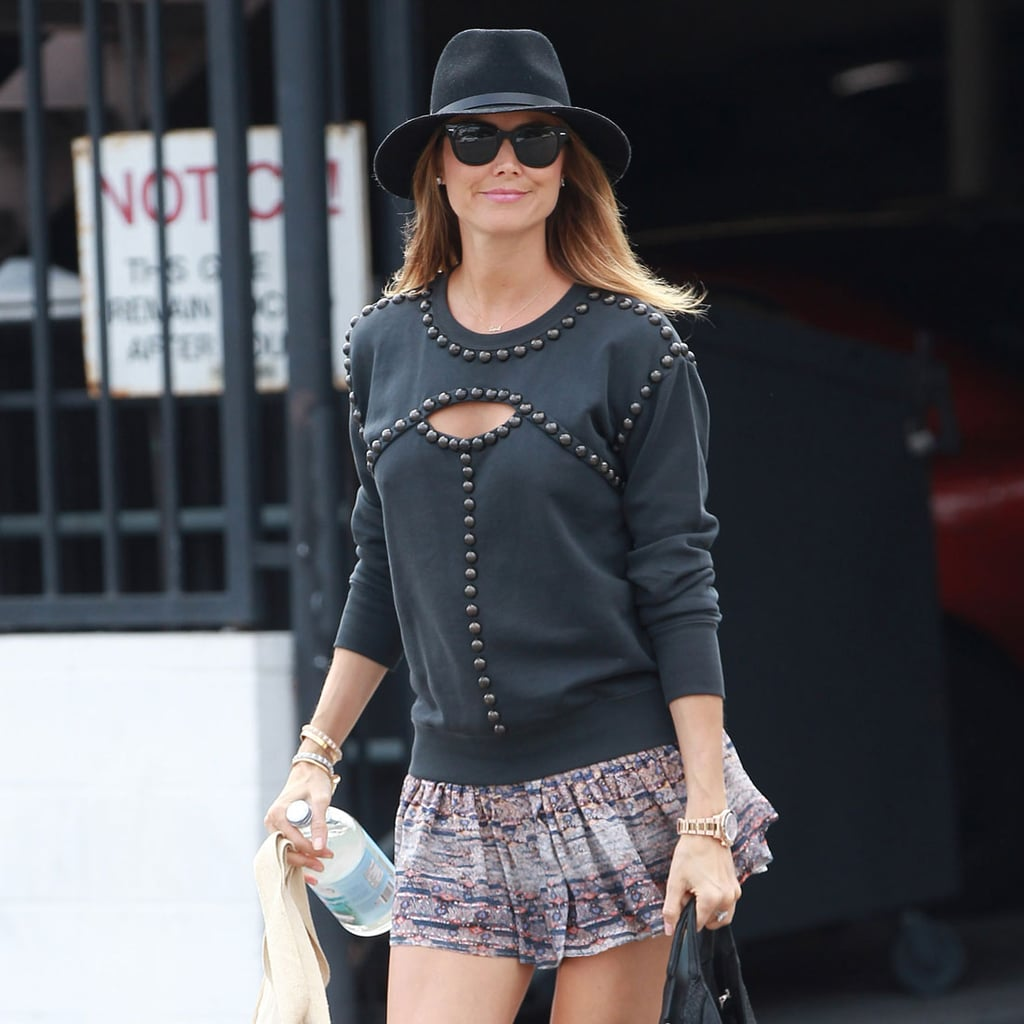 Stacy Keibler Pregnancy Style