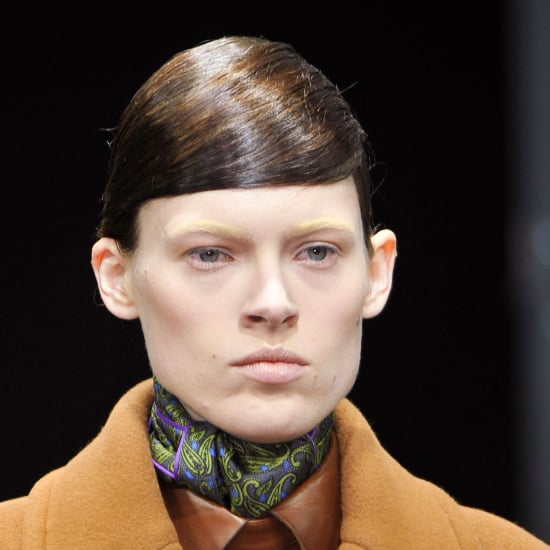 Alexander Wang Runway Hair and Makeup