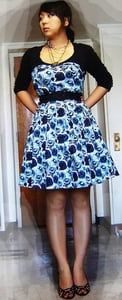 Look of the Day: Painterly Floral