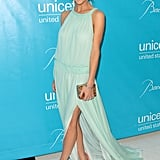 Brooklyn Decker in Mint Tory Burch at 2011 UNICEF Ball