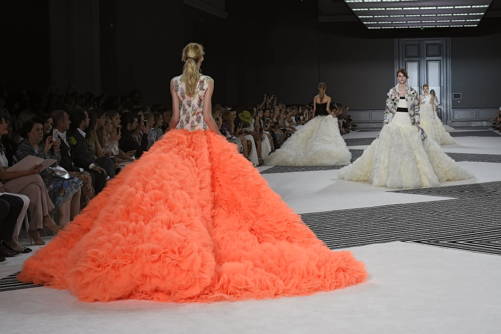 Best Gowns at Couture Fashion Week Fall 2015 | POPSUGAR Fashion