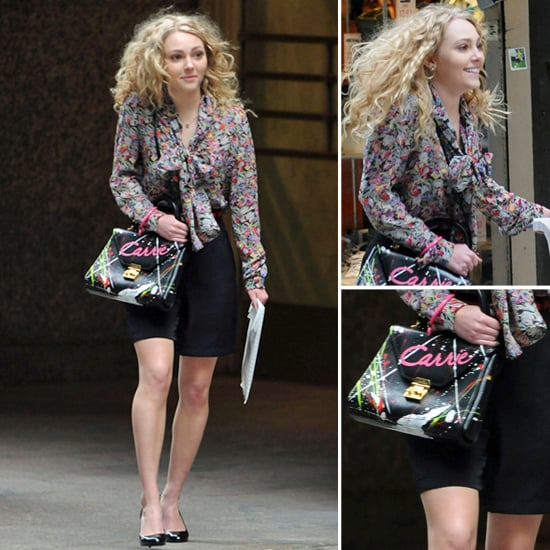 The Carrie Diaries Style on Set