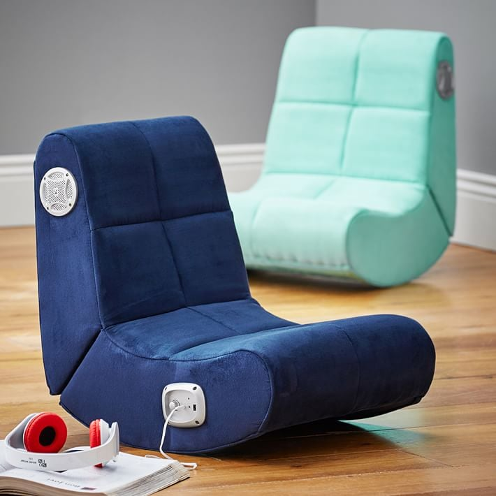 Suede Mini Rocker Speaker Chair Best Gifts For 14 Year