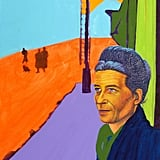 Simone de Beauvoir Archival Digital Pigment Print