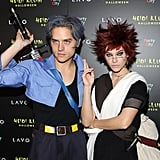 Barbara and Dylan at Heidi Klum's 2018 Halloween Party