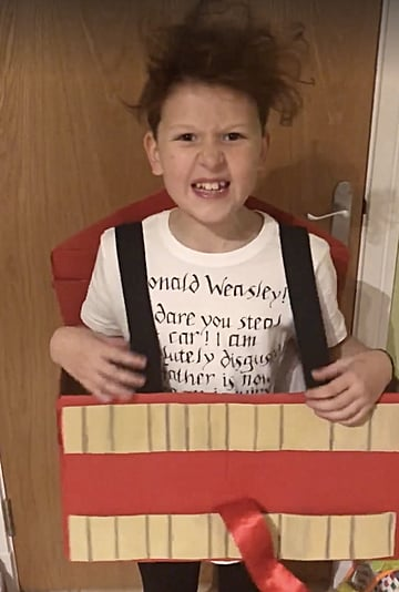 Kid's Harry Potter Howler Letter Costume | Video