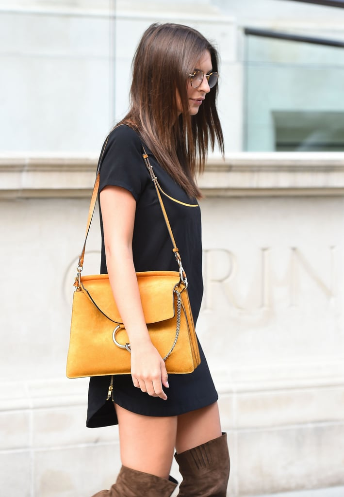 Emily Ratajkowski Just Wore Your Ideal Summer-to-Fall Outfit