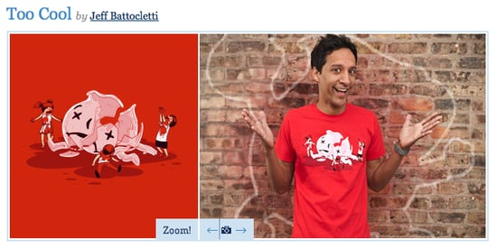 Danny Pudi as Threadless Model