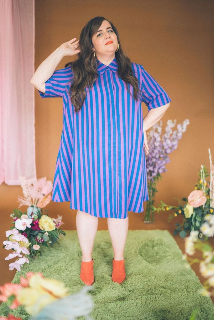 The Lovington Dress in Stripes by Aidy Bryant and Remy Pearce