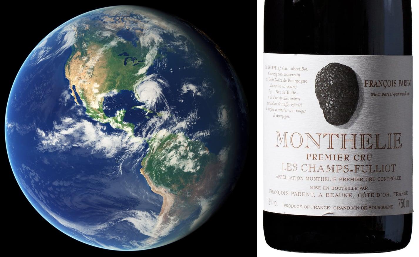 Earth and Burgundy Pinot Noir