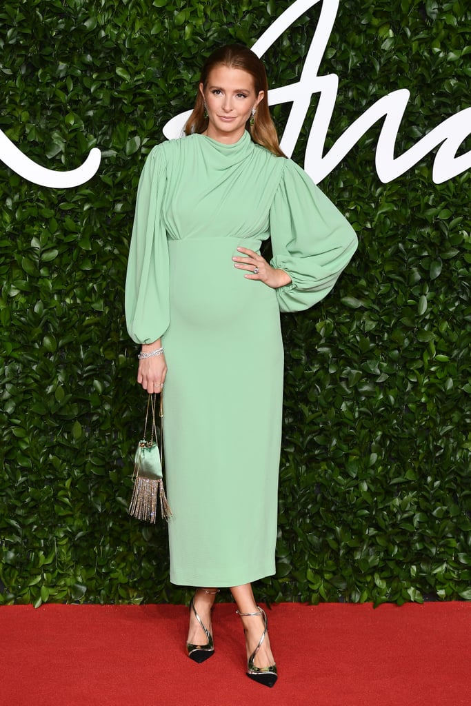 Millie Mackintosh at the British Fashion Awards 2019