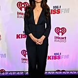 A Facebook conversation began as soon as Selena Gomez debuted her latest plunging red carpet look.