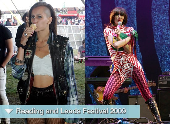 Photos of Celebrities at Reading and Leeds Festival 2009